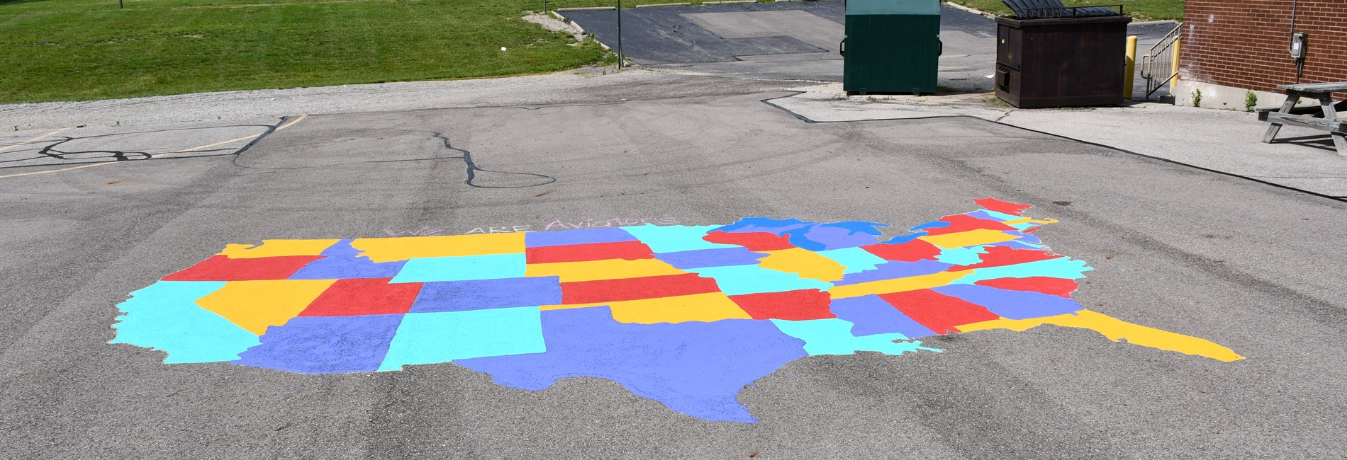 US Map at Smith