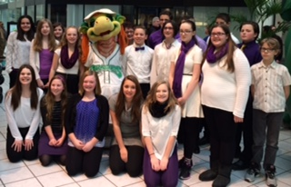 SoundWaves Selected to Sing at Dragons Game