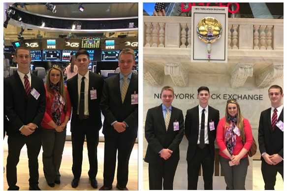 Business Students Visit NYC