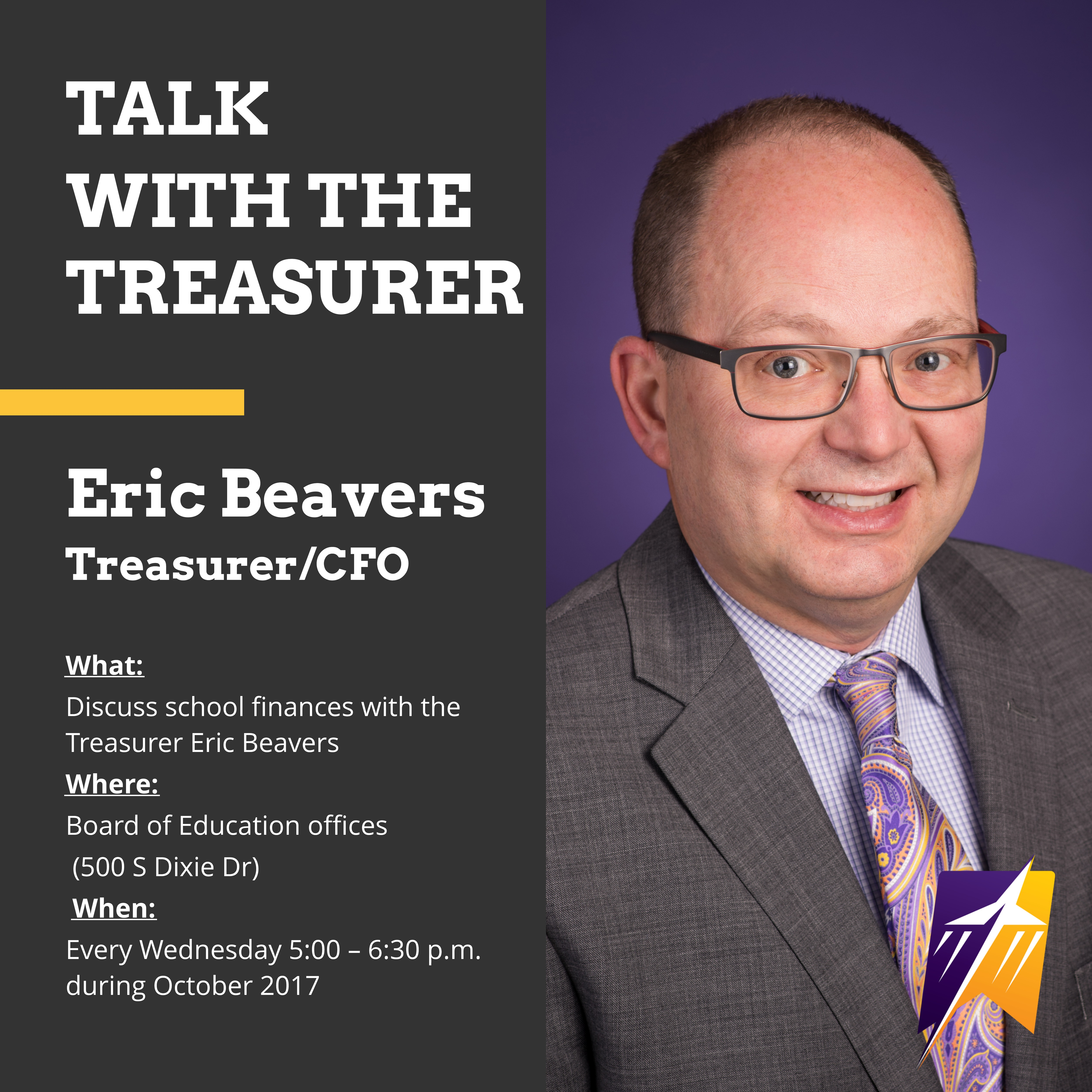 Talk with the Treasurer