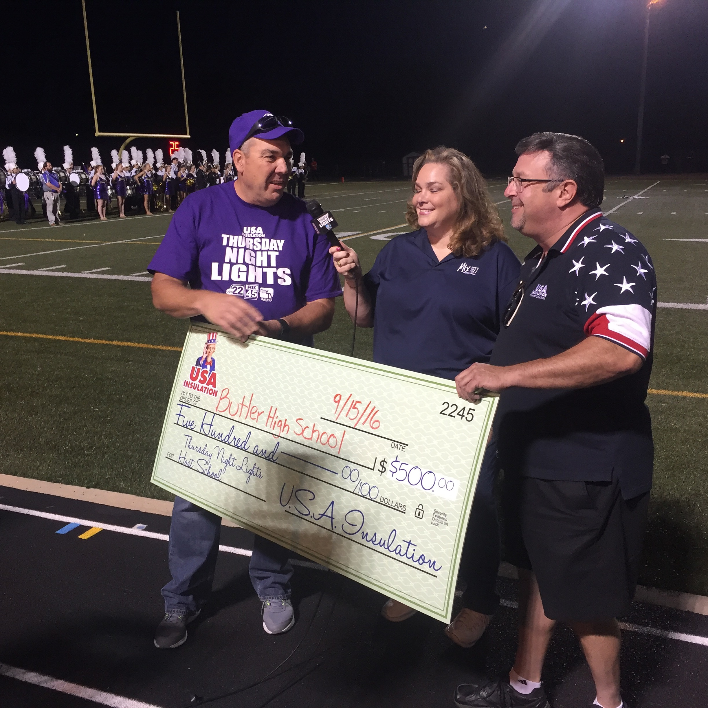 Thursday Night Lights Game a Success For Vandalia-Butler Community