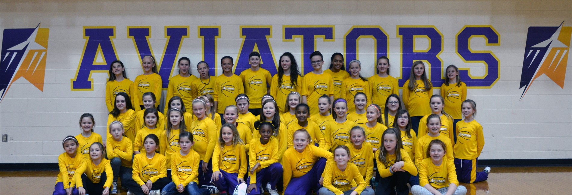Future Lady Aviators Basketball Camp